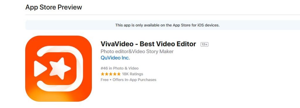 Top 6 iOS Apps for Video Editing 2018