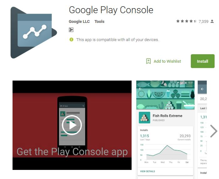 Top 6 Best Android Apps for 2018, Google Play Developer Console