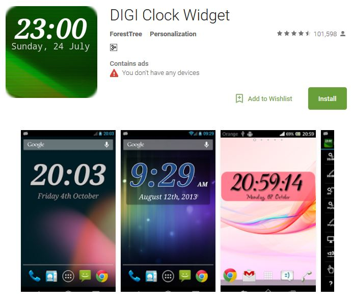 Top 10 Best Free Clock Widgets for Android Phones